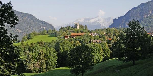Burgruine Castelberg im Domleschg