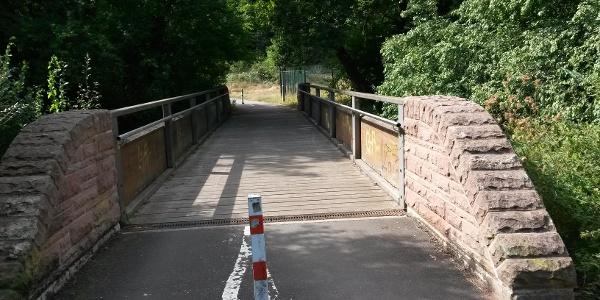 Radlerbrücke Grüner Winkel in KL