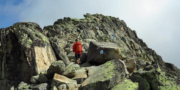 Auf dem UNESCO-Höhenweg.