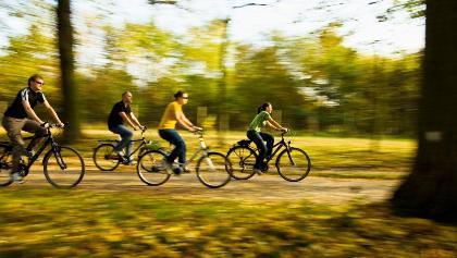Radfahren im Spessart-Mainland
