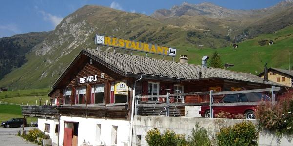 Gasthaus Rheinwald Sommer