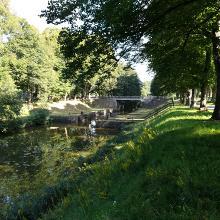 Schleuse am Nordhorn-Almelo-Kanal