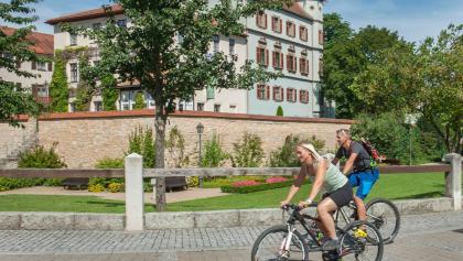 Schleifenroute - Stadtschloss Stadt Treuchtlingen