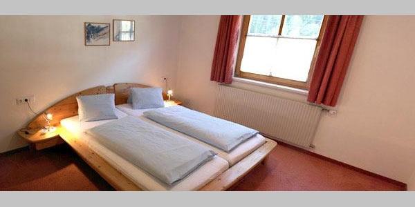 separate Schlafräume Appartements Nr. 3 - 10