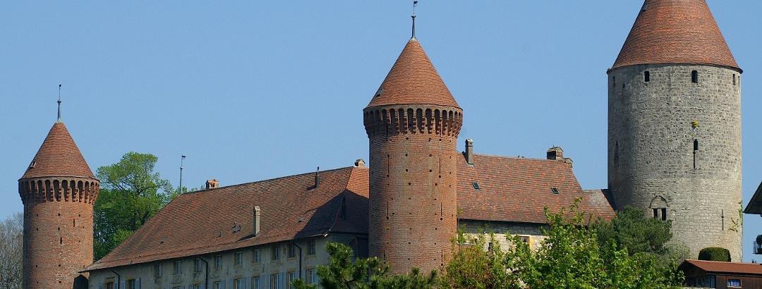 Schloss Chenaux in Estavayer-le-Lac.