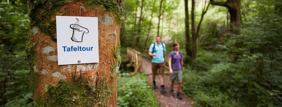 "On the ""Tafeltour"" through Saarland"