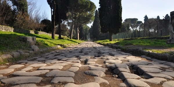 "A few tracks of the original route called ""Via Appia Antica"" are still preserved."