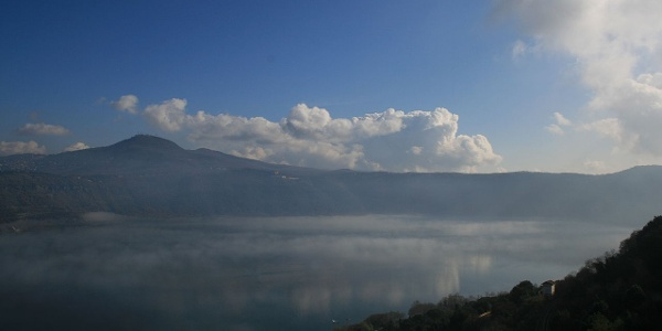 Still among Italy's hidden gems: Lago Albano.