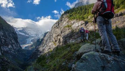 Am Unteren Grindelwaldgletscher.