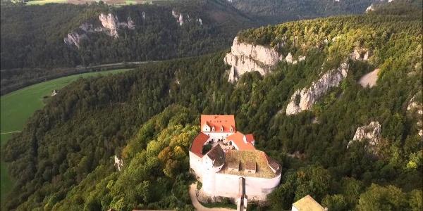 Drohnenflug über Burg Wildenstein
