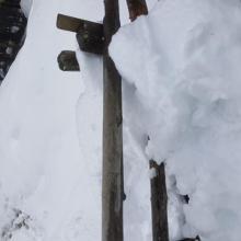 Climbing over gates