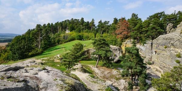 """Tolle Landschaft am """"Hamburger Wappen"""" bei Timmenrode"""