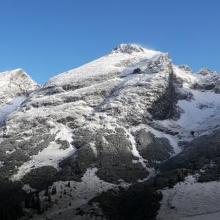 Foto von Bergtour: Vom Karwendelhaus zur Falkenhütte (Karwendelgebirge) • Seefeld (30.09.2017 18:48:33 #2)