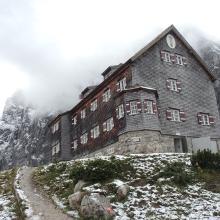 Foto von Bergtour: Vom Karwendelhaus zur Falkenhütte (Karwendelgebirge) • Seefeld (30.09.2017 18:49:42 #1)