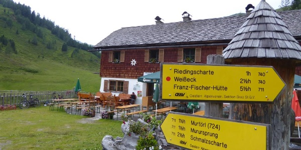 Sticklerhütte.