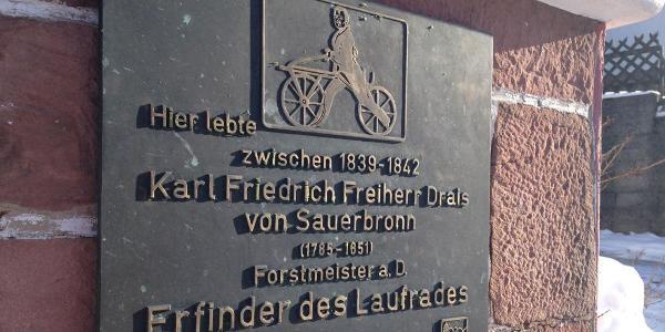 Gedenktafel in Waldkatzenbach