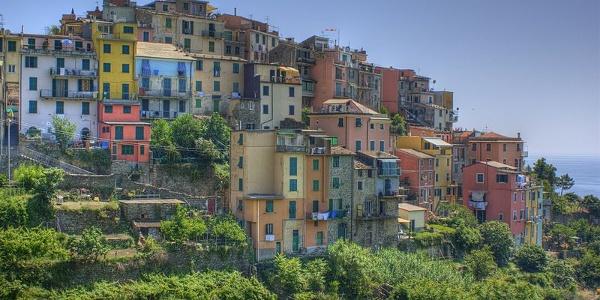 Views of Corniglia seaside