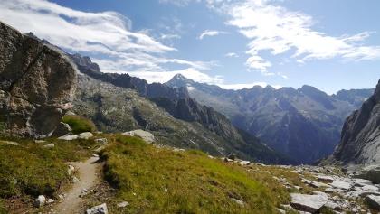 Auf dem Weg ins Valle di Zocca