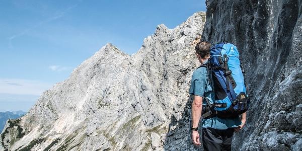 Blick in Richtung Mayrbergscharte