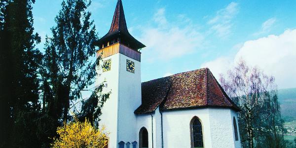 Die schöne Kirche von Sutz
