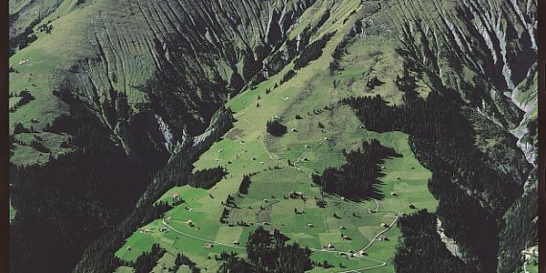 Blick vom Elsighorn zur Ladholz-Spisse