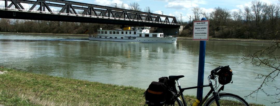 Brücke Chalampé - Neuenburg: Umkehrpunkt