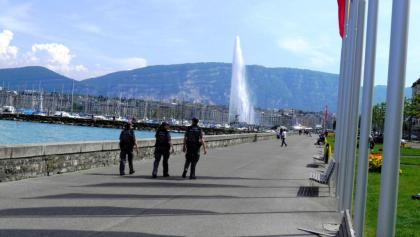 Genf: «Jet d´Eau»