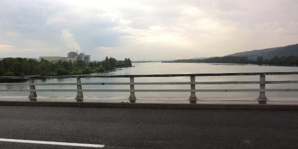 Rhônebrücke bei Chavanay