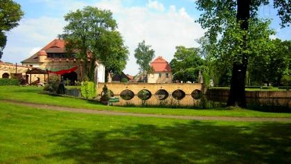 Lampertswalde: Rittergut mit Park und Burgcafé