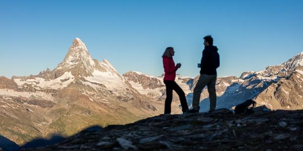 Atemberaubendes Panorama mit Matterhorn