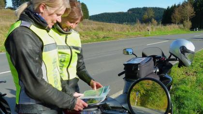 Die Krombacher Motorrad Route