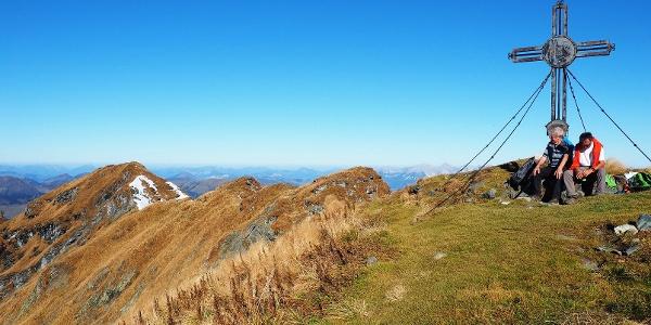 Geißstein 2363m mit Westgrat
