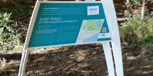 Startpunkt Slow Trail Römerschlucht