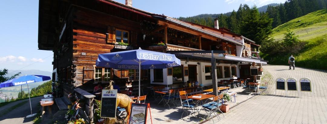 Der Berggasthof Gaisalpe