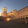 Basilica of St.Francis at night.