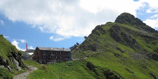 Der Weg zur Wormser Hütte.