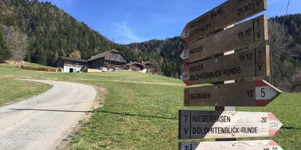 Hiking Oberstall