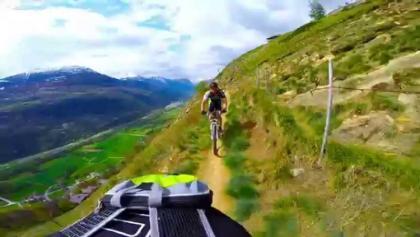 Mountain Bike Movie. Südrampe mountainbike trail