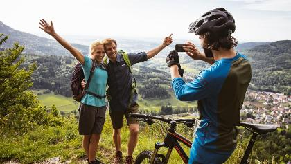 Wandern und Biken rund um Albstadt