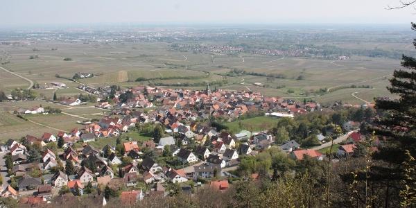 Ausblick auf Frankweiler