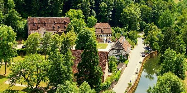 Kloster Wildberg von oben