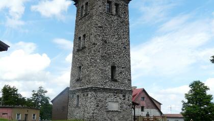 Cerchov Aussichtsturm in Böhmen