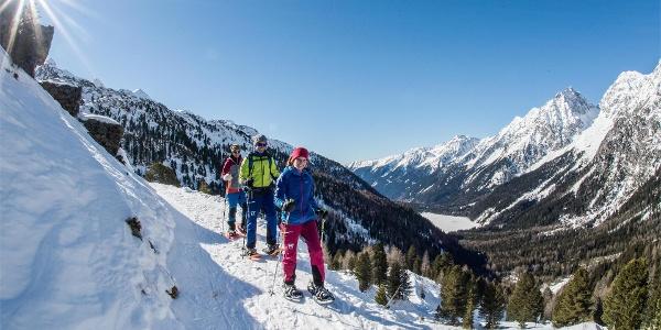 Schneeschuhwandern im Antholzertal