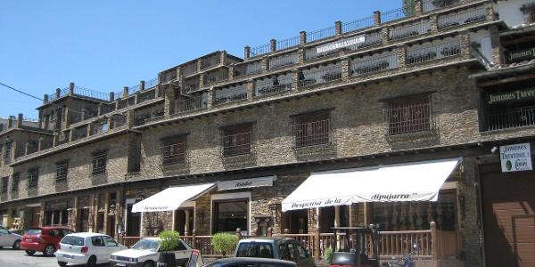 Zentraler Platz in Trevélez