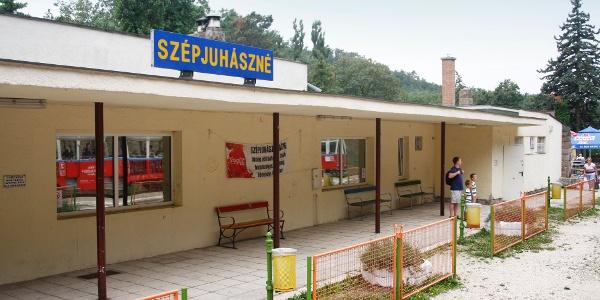 A Szépjuhászné állomásépülete