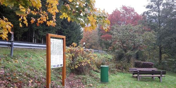 Wanderparkplatz Stauweiher