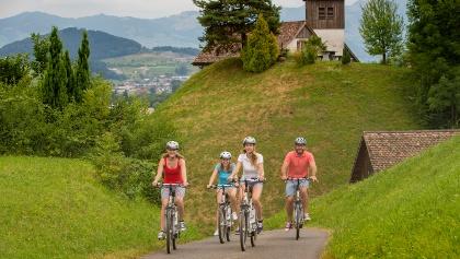Lachen in der Region Ausserschwyz