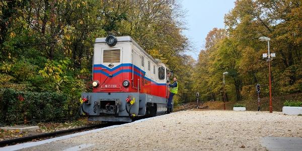 Detská železnica, stanica Hűvösvölgy