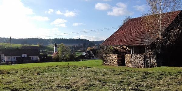 Blick auf Würzbach