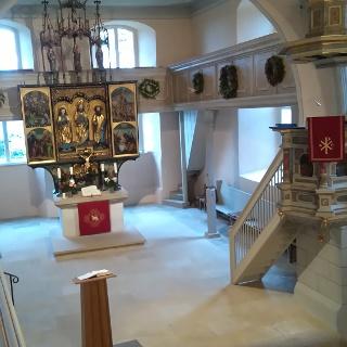 Altar Kirche Seifersdorf